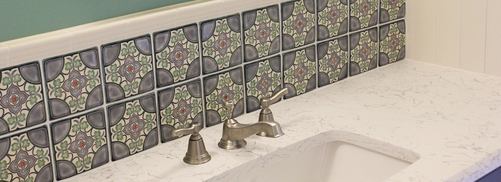 Flores tile installation
